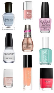 beauty basics - summer nail colors