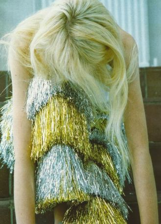 tinsel dress