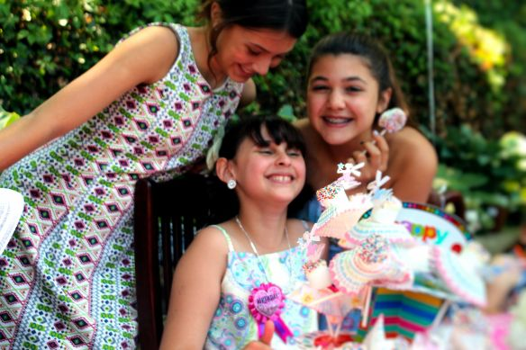 9 year old Tea party celebration 048