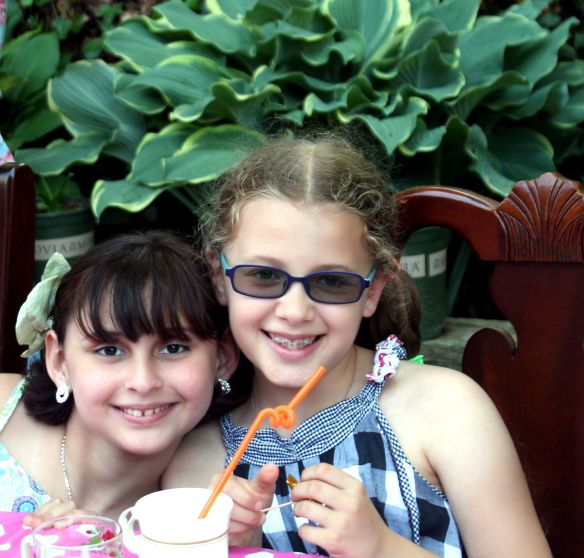 9 year old Tea party celebration 054