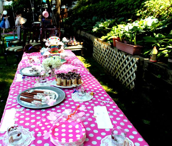 9 year old Tea party celebration 137