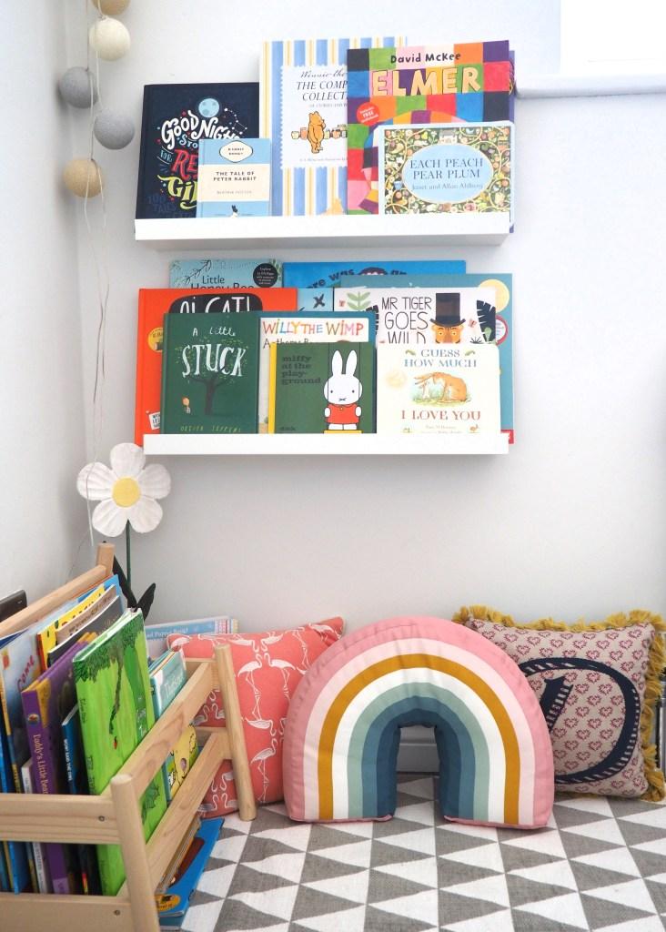 Daisy's reading corner www.styleandsubstance.uk