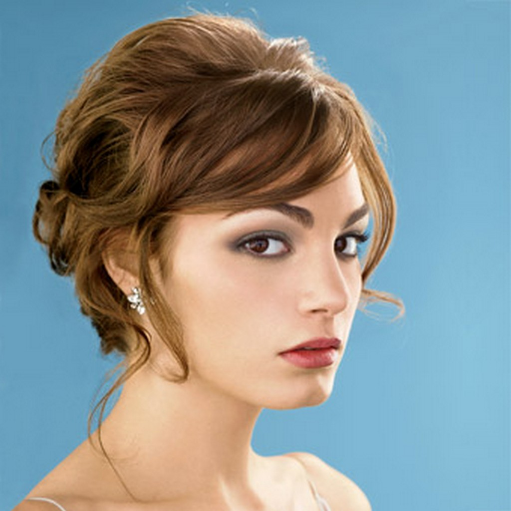 Simple Hairstyle For Short Hair Party Fusion Hair Extensions Nyc