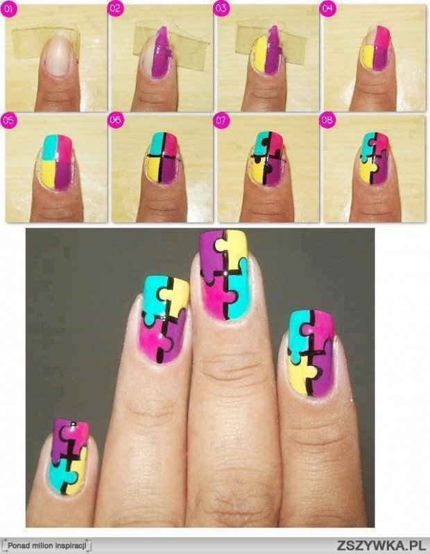 25 Very Easy Simple Step By Nail