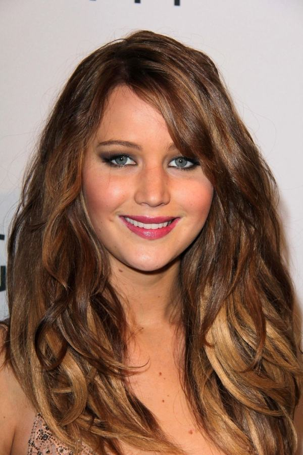 Jennifer Lawrence Brown Hair Color
