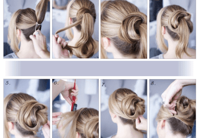 Easy Messy Hairstyles