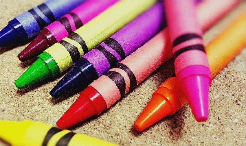 crayon lipstick DIY project