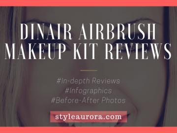 Dinair airbrush makeup reviews