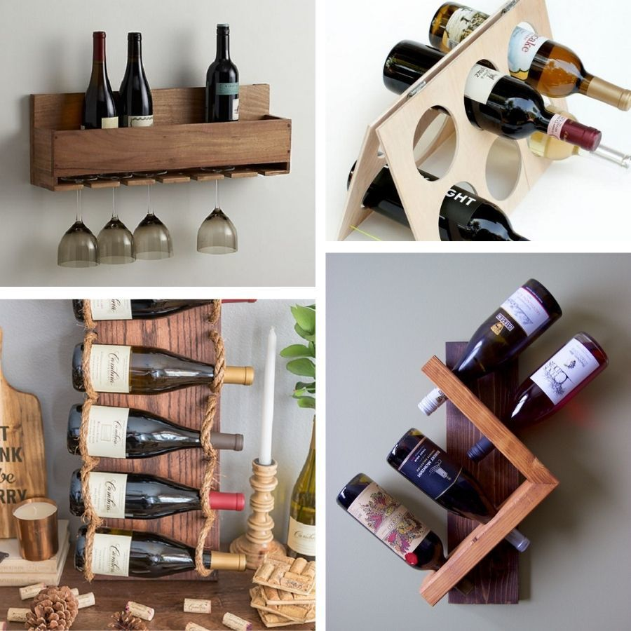 15 creative diy wine rack ideas for
