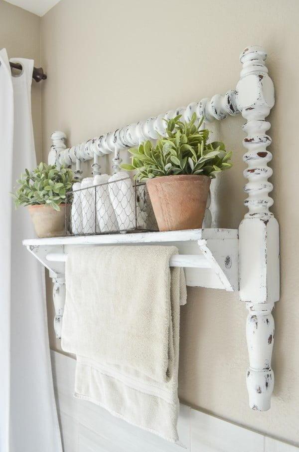 30 creative diy towel rack ideas