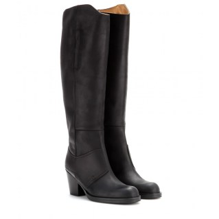 Leather boots. Acne Studios, $562