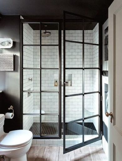 9. What about an outdoor-like shower?