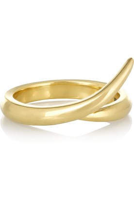 18-karat gold ring, Shaun Leane $1,320