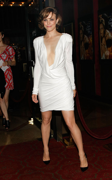 Rachel Mcadams In White Style Blog Canadian Fashion