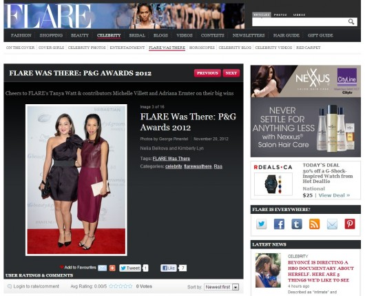 flare-magazine-p&g-awards