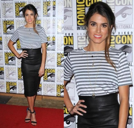 nikki-reed-leather-skirt