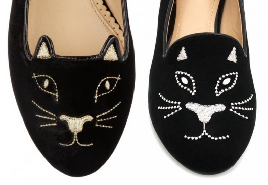 charlotte-olympia-kitty-flats-knock-off
