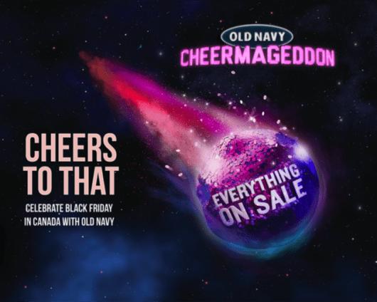 Old Navy Asteroid Cheermageddon Sale