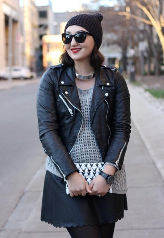 club-monaco-leather-skirt