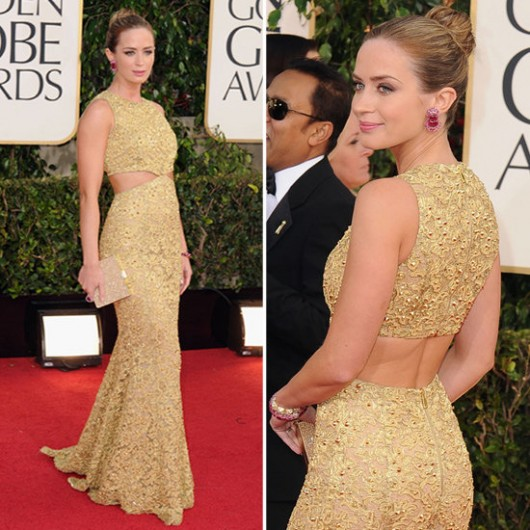 best-dressed-golden-globes-2013-emily-blunt-michael-kors