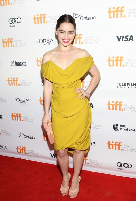 Emilia Clarke in Toronto for TIFF 2013