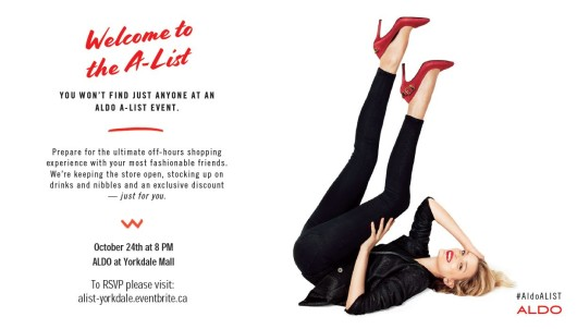 Yorkdale-A-List-ALDO-Event-Invitation