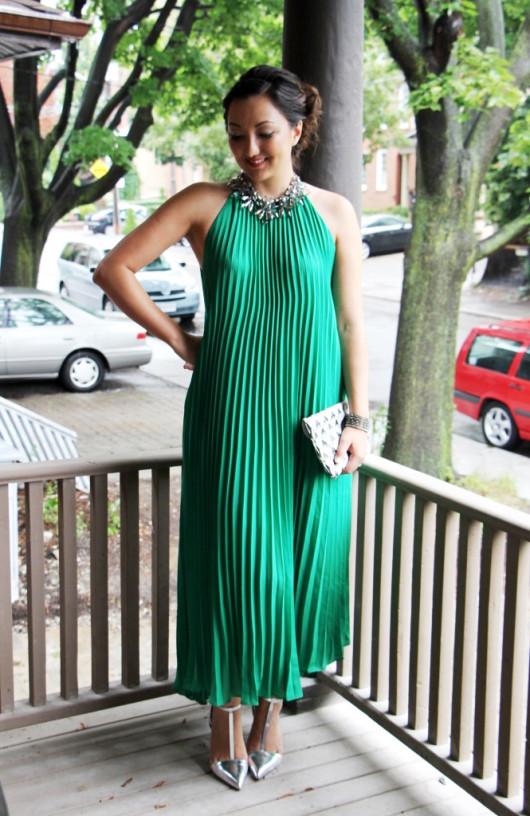 green-pleated-maxi-dress-3