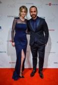Jenny Bird and Stylist George Antonopoulos