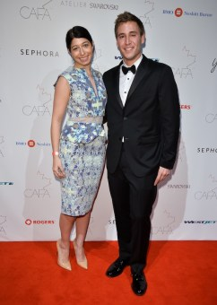 Canadian-Arts-Fashion-Awards-2014-The-Coveteurs-Stephanie-Mark-and-Jake-Rosenberg