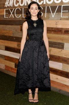 Emmy-Rossum-Wearing-HM-Conscious-Collection