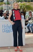 "Australian actress Cate Blanchett poses during a photocall for the animated film ""Dragon 2"" at the 67th edition of the Cannes Film Festival in Cannes, southern France, on May 16, 2014. AFP PHOTO / BERTRAND LANGLOIS (Photo credit should read BERTRAND LANGLOIS/AFP/Getty Images)"