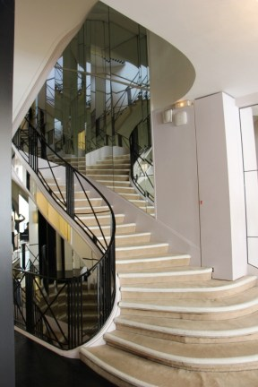 The infamous staircase.