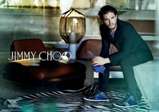 Kit Harington for Jimmy Choo Fall Winter 2014