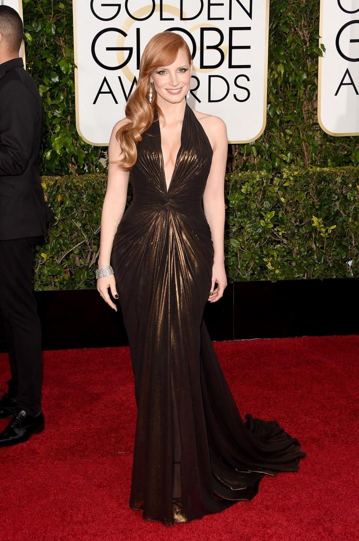 Golden-Globes-2015-Best-Dressed-Jessica-Chastain