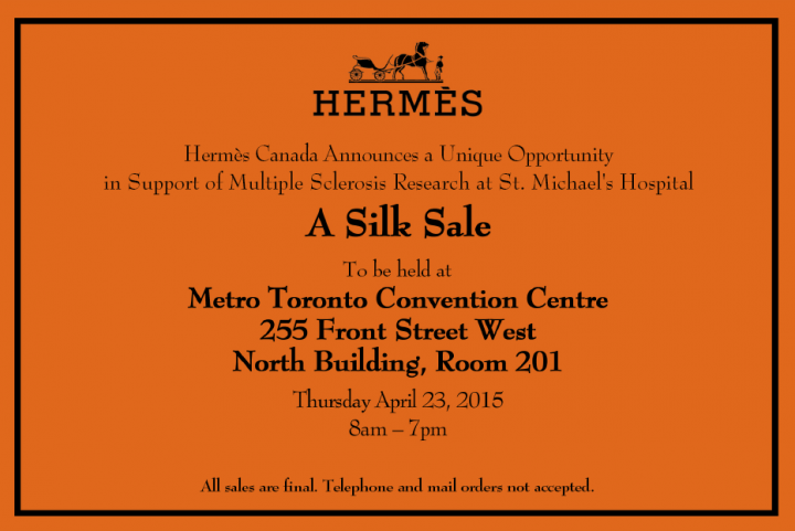 hermes-toronto-sample-sale-canada-2015