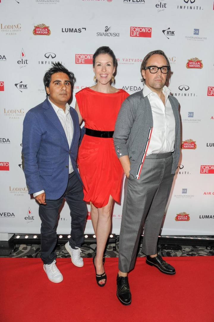 Shinan Govani, Kerry Connolly & Nicolas Mellamphy