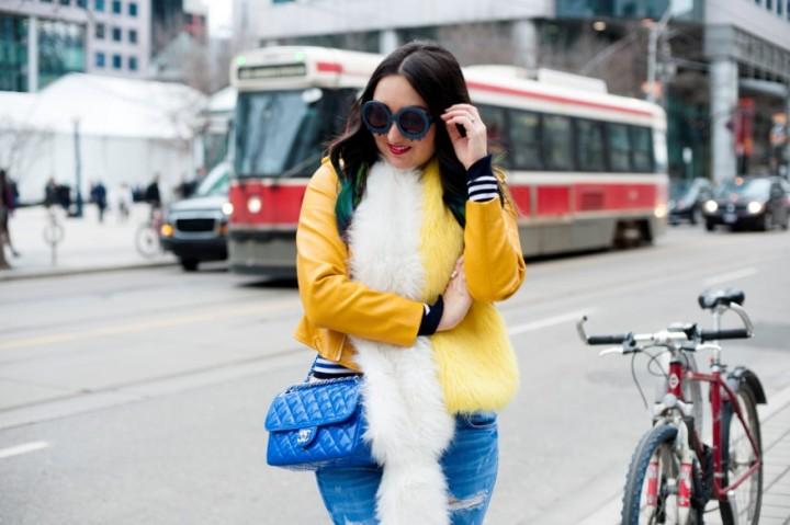 zara-yellow-leather-moto-frayed-jeans3