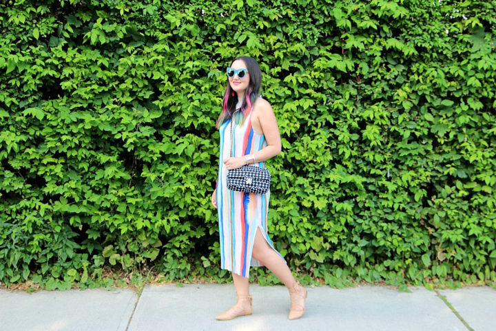 multistripe-h&m-dress-pastel-stripes-hair