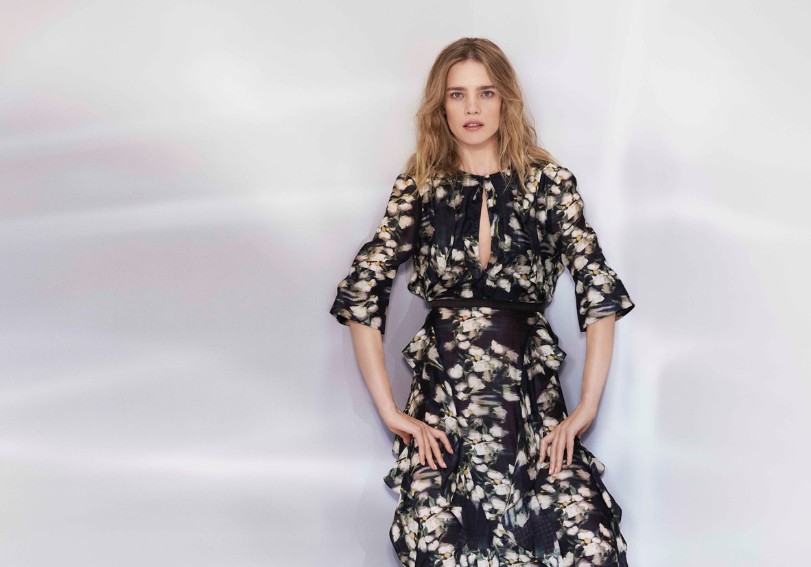 Fashion week H&m summer spring lookbook for lady
