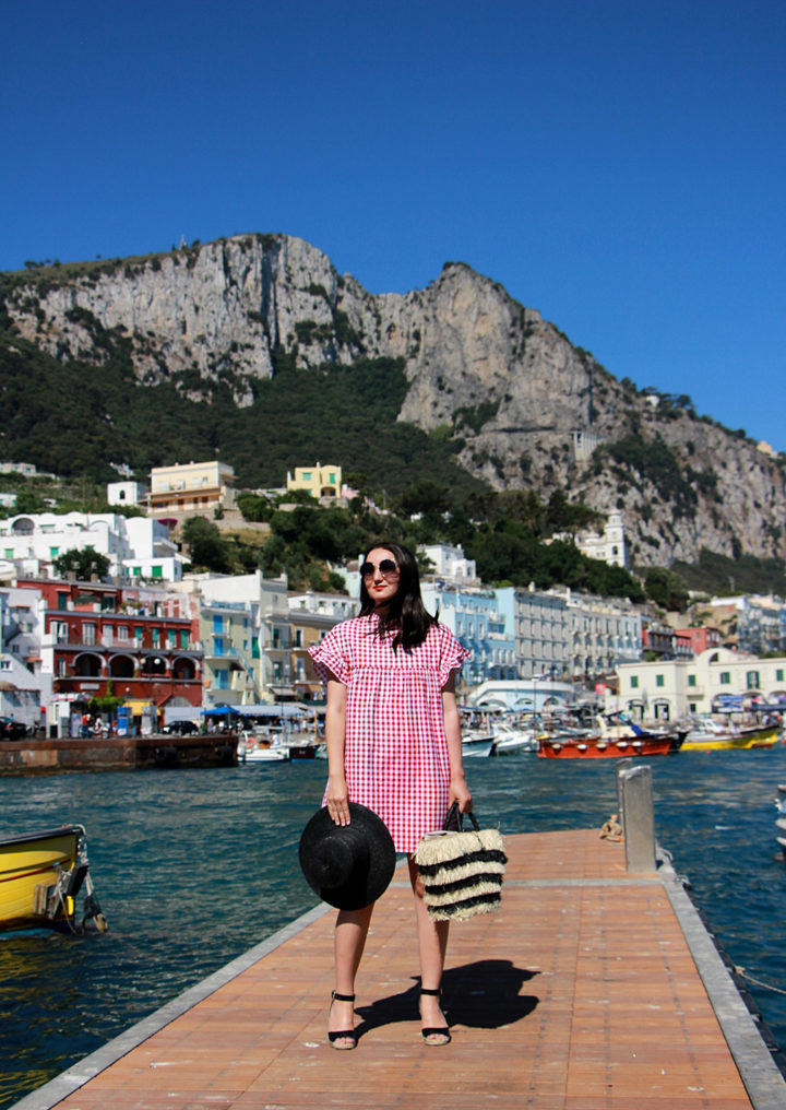 Style Blog Travels Boating In Capri Style Blog Canadian