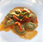 Lobster Ravioli from Grand Hotel La Favorita