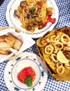 Trattoria Da Emilia - get the Clam Spaghetti!