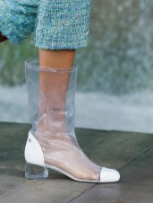 Chanel-Spring-Summer-2018-Collection-vinyl-boots