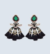Mercedes Salazar Abeja Reina Petit earrings $225 CAD