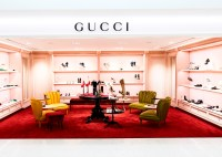 Holt Renfrew Bloor Women's Footwear Hall_Gucci