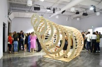 Holt-Renfrew-Knot-on-my-Planet-Installation by Nicole Charles and Justin Pape