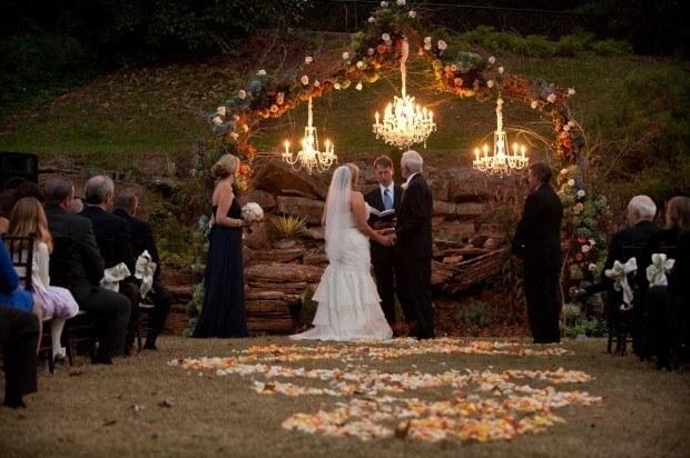 A Fall Outdoor Wedding
