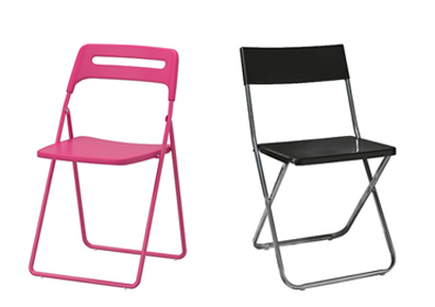 ikea folding chair one person swing stylebust chairs left nisse