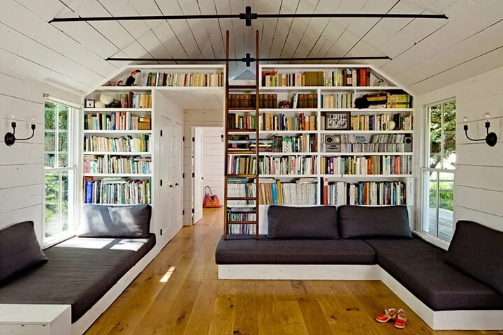 Library_Wall_Living_Room