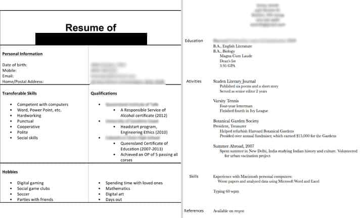 Not_Enough_Resume_Information